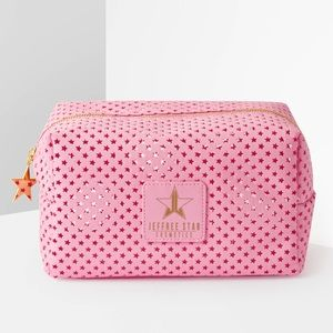 Jeffree star ⭐️ cutout mesh travel bag NWT